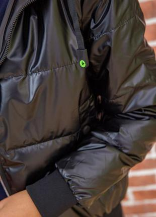 Куртка с капюшоном снимается тренд демми s m l