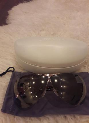 Солнцезащитные очки авиаторы  готье по цене как h&m)
