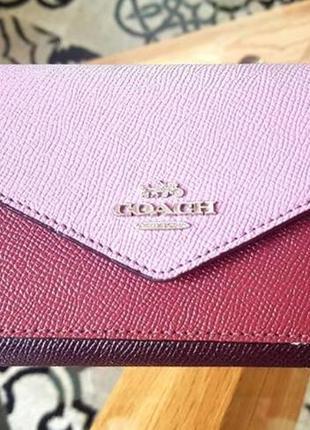 Кожаный кошелек люкс бренд