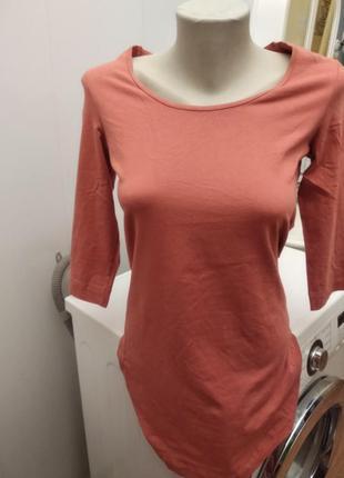 Новое натуральное стрейч платье -футболка, esmara