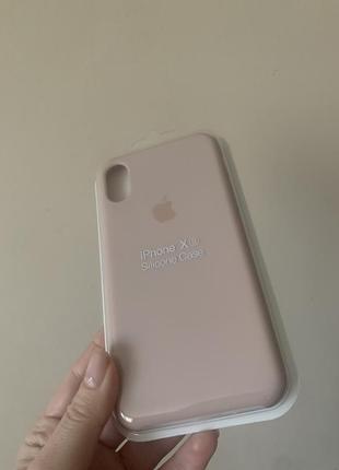 Чехол на iphone x xs silicone case