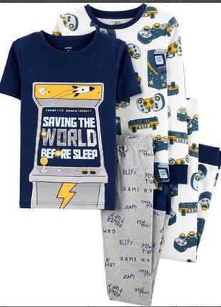Пижама картерс 8т