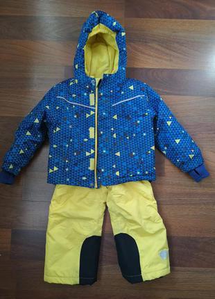 Зимний полукомбинезон и куртка lupilu