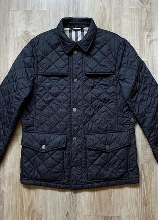 Мужская стеганая куртка burberry london