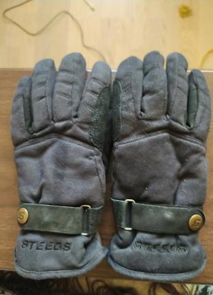 Рукавиці перчатки для верхової їзди конного спорту steeds