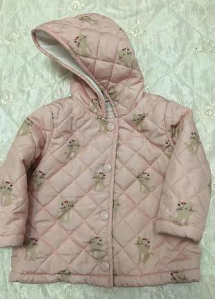 Потрясающе нежная куртка для маленькой модницы)