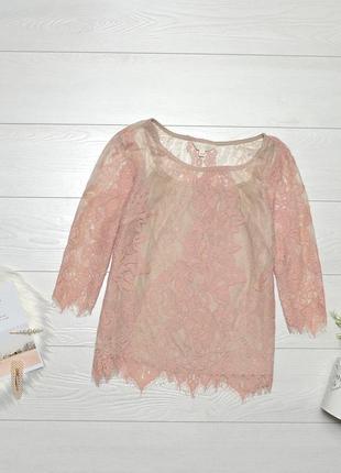 Красива ажурна блуза adiva.