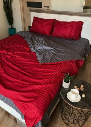 Шикарный комплект постельного белья сатин