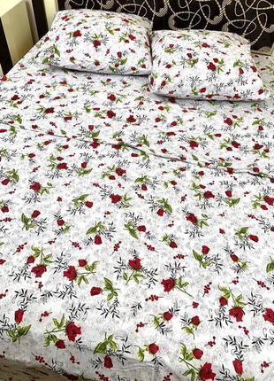 Постельное белье цветок комплект