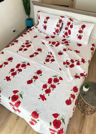 Комплект постельного белья маки