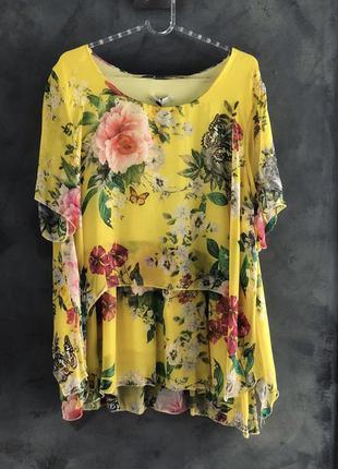 Блуза желтая j-clair
