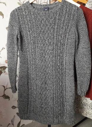 Шерстяное/вязаное платье gap
