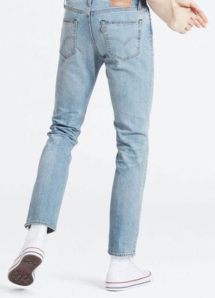 Преміму лінійка, завужені світлі джинси levi's 511 premium slim fit flex advanced stretch jeans men's light wash
