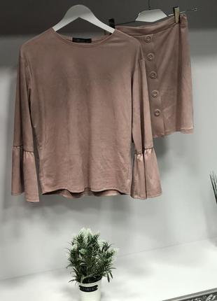 Костюм блуза юбка