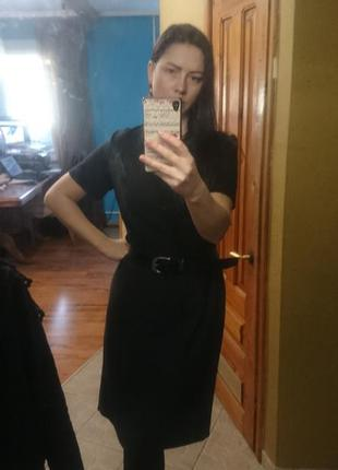 Платье миди, деловое, офисное