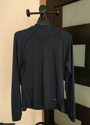 Беговоя женская кофта, лонгслив с капюшоном бренда runners point.l-ka