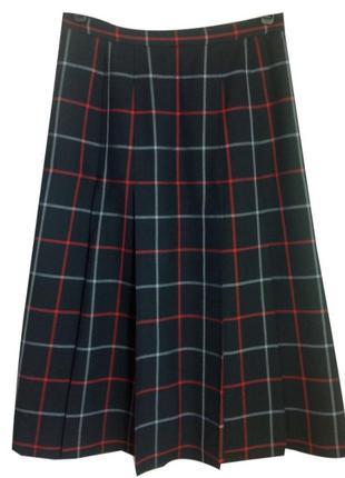 Оригинальная шерстяная юбка ,спідниця 💯 шерсть burberry