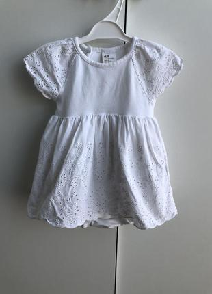 Плаття, платье , бодік - плаття , н&м , 2-4 , 3-6