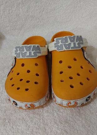 Сабо кроксы crocs c 12-13 star wars 29-30p