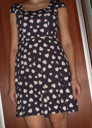 Плаття з сердечками/платье серце