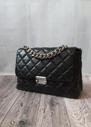 Polina & eiterou. стильна, якісна жіноча сумочка, натуральна шкіра.