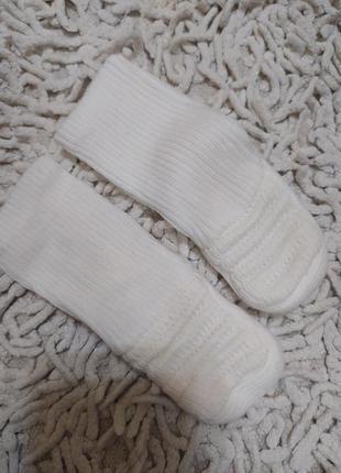 Носочки теплые  на новорожденного