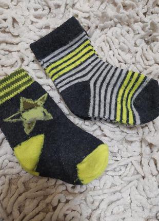 Носочки на новорожденного
