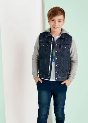 Стильная джинсовая куртка pepperts на рост 140 см