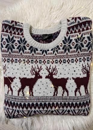 Затишний светр з оленями🎄🤩