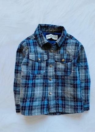 Matalan стильная рубашка-куртка  на мальчика   1,5-2 года