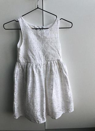 Плаття з прошви , платье с прошвы , сукня , платтячко , h&m, 6-7 років, 6-7 лет , 122, сукенка, сарафан