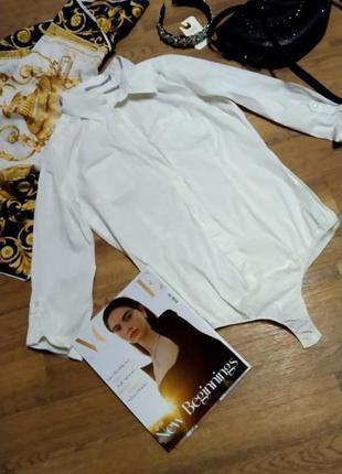Боди-рубашка базовая