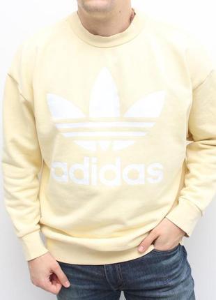 Стильный оригинальный яркий свитшот adidas