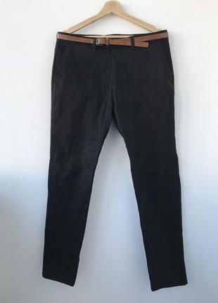 Класические брюки штаны pull&bear