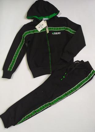 Спортивный костюм для мальчика тm grace р.134. качество люкс. венгрия