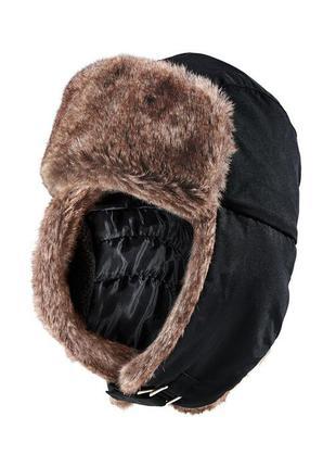 Зимняя меховая шапка, tchibo германия, размер универсальный