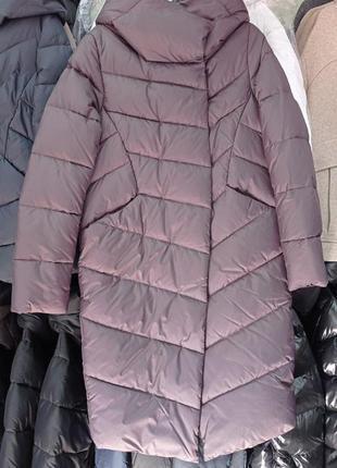 Зимний пуховик,шикарное качество, очень стилтная,практичная модель, последние размерчики.