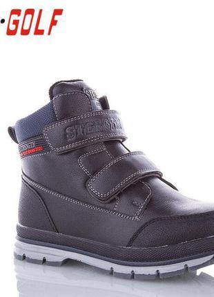 Зимние ботинки тм jong golf для мальчика р.30