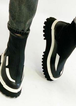 Эксклюзивные ботинки, турция,шикарное качество и стиль.