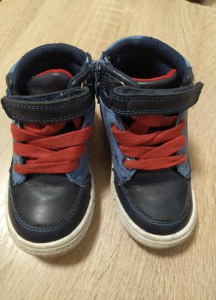 Демисезонные ботинки 23 размер