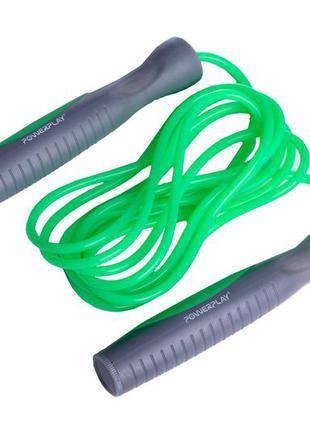 Скакалка powerplay 4204 зелена