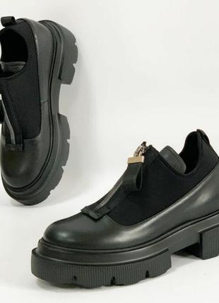Стильные туфли,ботиночки,кожа, эксклюзив модель.
