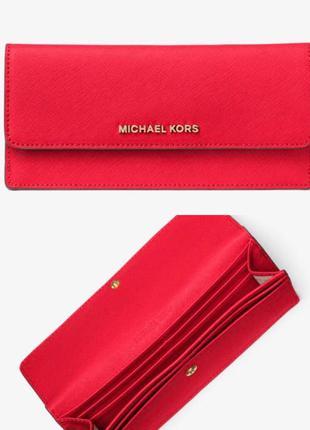 Кожаный кошелёк michael kors