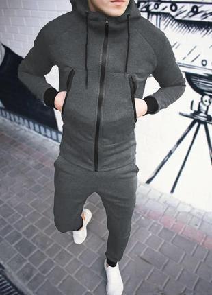 """Мужской спортивный костюм """"grey"""""""