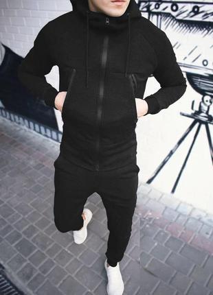 """Мужской спортивный костюм """"black"""""""