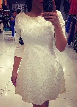 Платье из набивной ткани молоко   42 и 44 р