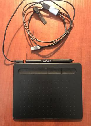Графічний планшет wacom intuos black(ctl-4100k-n)
