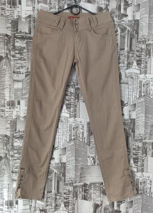 Брюки скини зауженные брюки размер 46