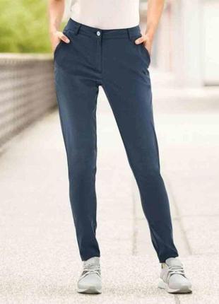 Легкие синие женские брюки crivit германия размер 54