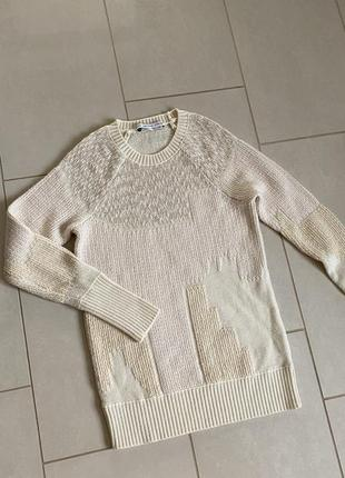 Тёплый свитер лонгслив размер s/m